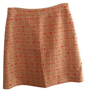 Kate Spade Skirt Orange/pink Multi