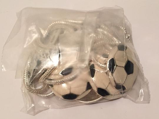 LJ Accesories Lot Of 5 Soccer Ball Neclaces
