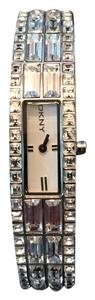 DKNY DNKY Beekman Silver Tank Watch With Glitz
