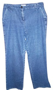 Charter Club Trouser/Wide Leg Jeans-Medium Wash