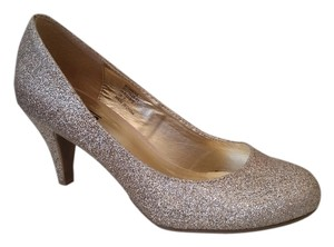 Mix No. 6 Gold Pumps