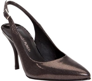 Donald J. Pliner Metallic Lizard Print Pumps