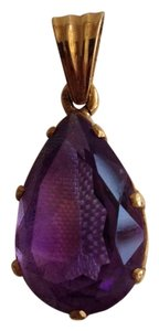 Other 14K Gold Amethyst Pendant.