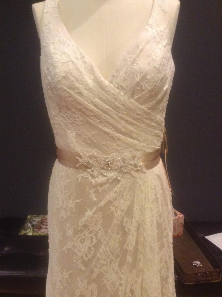 Wtoo Ivory/Champagne/Cashmere Lingerie Lace/Stretch Satin/Double ...