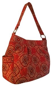 Vera Bradley Quilted Cloth Hobo Bag