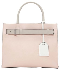 Reed Krakoff Nude Tote in Colorblock blush NWT