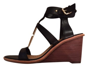 DV by Dolce Vita Black/wood Wedges