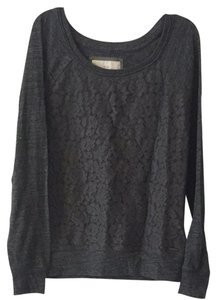 Abercrombie & Fitch Comfortable Lace Cotton Sweater