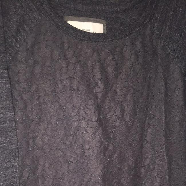 Abercrombie & Fitch Lace Cotton Causal Daily Longsleeve Sweater