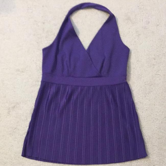Only Mine Open Back Sexy Top Purple