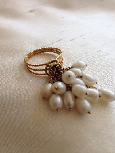 Other 14K Gold Pearl Ring.