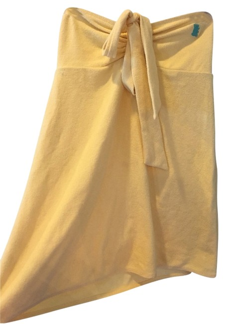Item - Yellow Beach Cover-up/Sarong Size 8 (M)