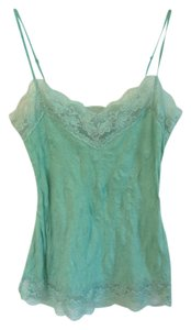 Other Lace Lace Trim Top Green lime