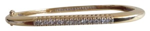 Other 14K Gold Diamond Bangle Bracelet.