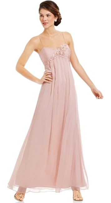 Adrianna Papell Polyester; Lining: Polyester Dry Clean Imported Sweetheart Neckline Hidden Back Zipper With Hook-and-eye Closure Straps Dress