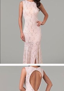 Light Pink Formal Dress Size 8 (M)
