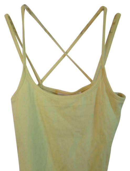 Preload https://item3.tradesy.com/images/yellow-double-cross-straps-built-in-bra-tank-topcami-size-4-s-3247852-0-0.jpg?width=400&height=650
