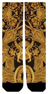 AAC Gold scroll socks