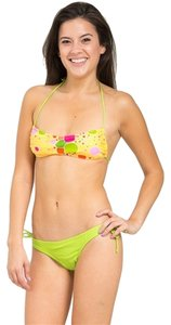 West Mariner Junior's Halter Thong String Bikini Set Size XLarge