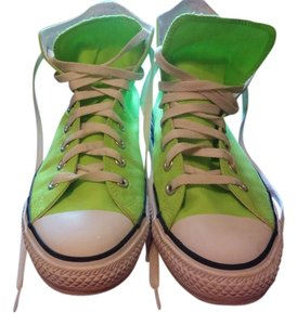 Converse Neon green Athletic