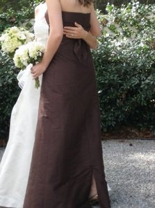 Coren Moore Brown Maggie Extra Long Dress