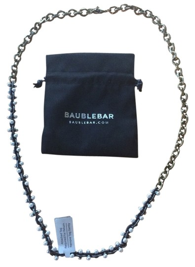 Preload https://item5.tradesy.com/images/baublebar-owen-pearl-chain-strand-hematite-mixed-metal-long-necklace-3248239-0-0.jpg?width=440&height=440