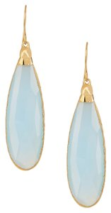 Janna Conner Janna Conner Kele Blue Chalcedony Teardrop Earrings