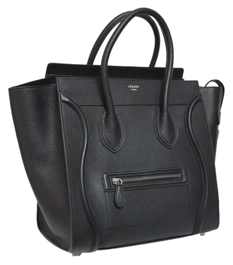 Preload https://item3.tradesy.com/images/celine-luggage-new-small-mini-pebbled-black-leather-tote-3248377-0-0.jpg?width=440&height=440