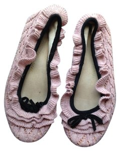 Juicy Couture Slippers Pink Rose Vintage Pink Flats