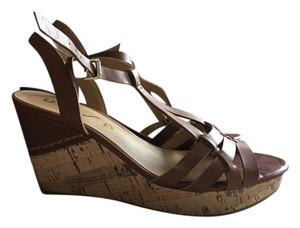 Unisa Wedge Sandal Wedge Sandal Brown Wedges