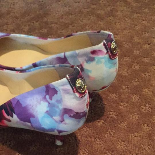 Ivanka Trump Floral Pumps