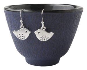 Other birds earrings - silver bird earrings - birds dangles - sparrow earrings - bird jewelry - silver sparrows - bird dangles