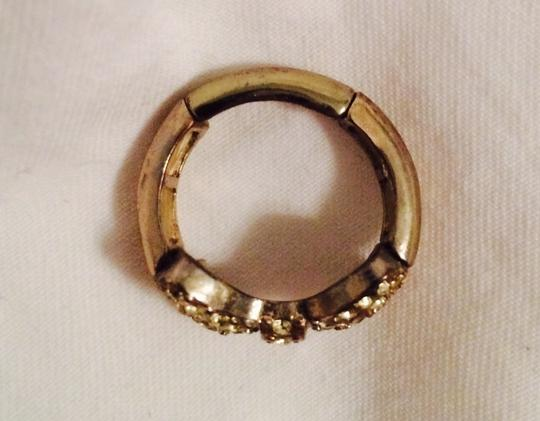LC Lauren Conrad Sequin Bow Ring