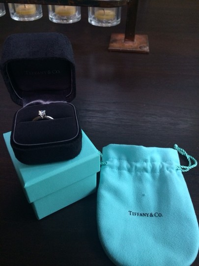 Tiffany & Co. Tiffany,&,Co.,Platinum,and,diamond,solitaire,ring