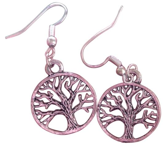Other New Silver Tree of Life Dangle Earrings
