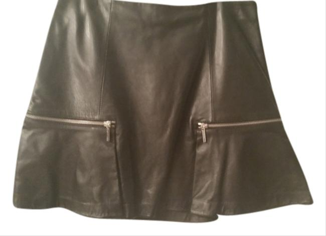 Preload https://item3.tradesy.com/images/michael-kors-miniskirt-black-leather-with-silver-zipper-3249712-0-0.jpg?width=400&height=650