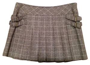 Juicy Couture Mini Skirt brown plaid
