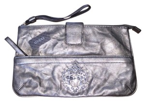 Guess Pewter Clutch