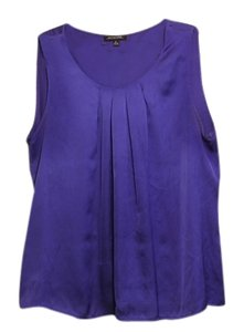 Notations Pleated Top Royal Blue