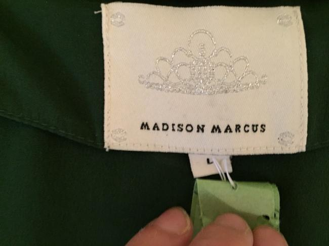 Madison Marcus short dress Dark Green on Tradesy