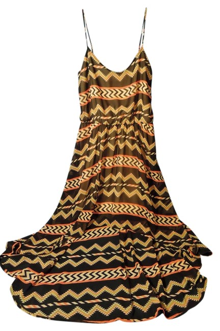 black multi Maxi Dress by Coveted Clothing
