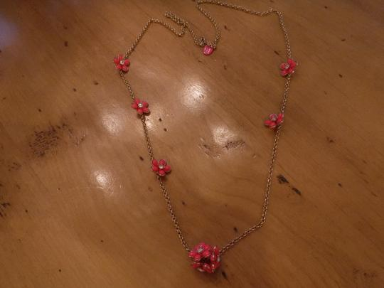 Juicy Couture Juicy Couture Foral Necklace and Earing Set