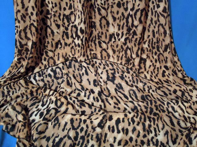 black & leopard Maxi Dress by Other