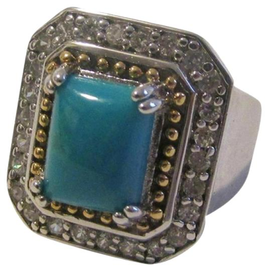Preload https://item1.tradesy.com/images/technibond-925-sterling-silverplatinum-plated-simulated-turquoise-size-7-ring-3251305-0-2.jpg?width=440&height=440