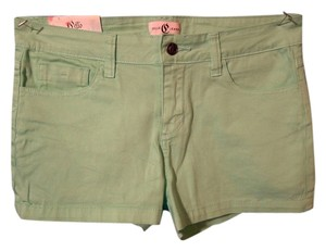Cello Jeans Mini/Short Shorts green