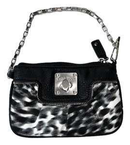 Calvin Klein Wristlet in Black and White