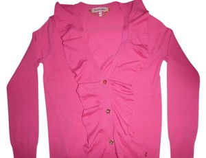 Juicy Couture Wool Ruffle Cardigan
