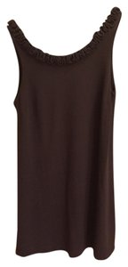 J.Crew short dress Dark Gray Shift Sleeveless Short on Tradesy