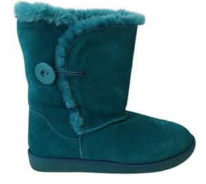 SO Teal Boots