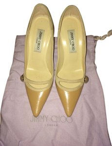 Jimmy Choo Nude Pumps